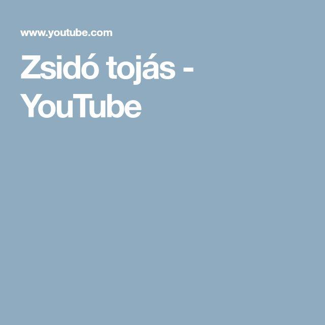 Zsidó tojás - YouTube
