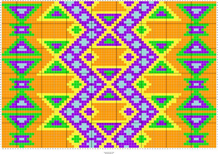 Copy of Mochila | Stitch Fiddle - Stitch Fiddle