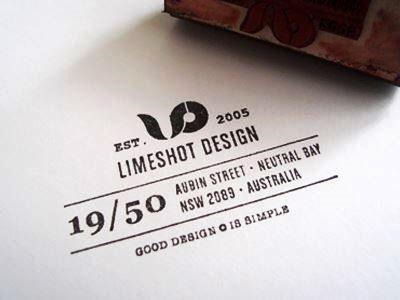 Limeshot Design Stamp