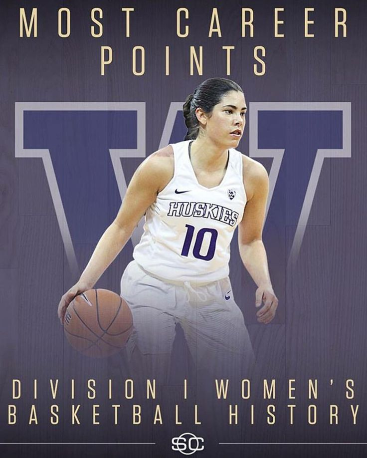"""1,430 Likes, 9 Comments - espnW (@espnw) on Instagram: """"History. Kelsey Plum passes Jackie Stiles as the NCAA career women's scoring leader with 57 point-…"""""""
