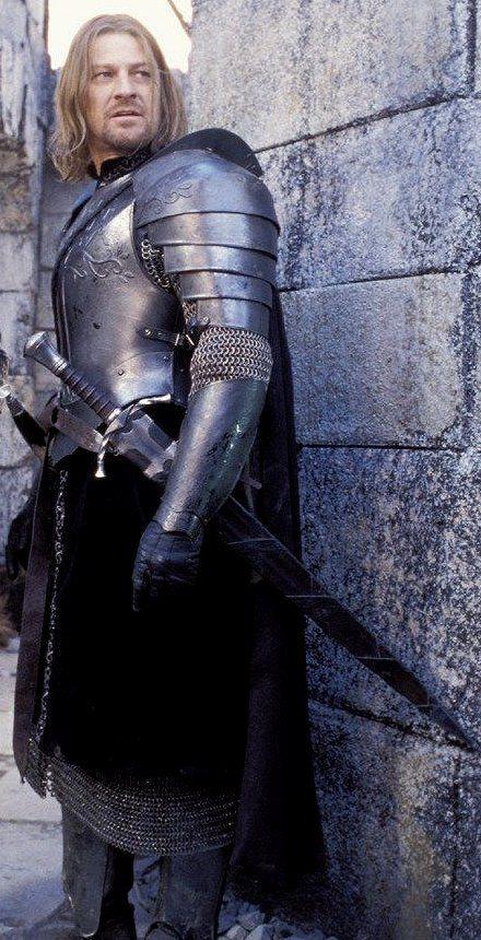 "Boromir of Gondor, Sean Bean...""my vintage"" as some would ..."