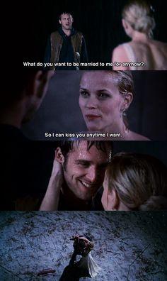 So I can kiss you.. ~ Sweet Home Alabama (2002) ~ Movie Quotes #amusementphile