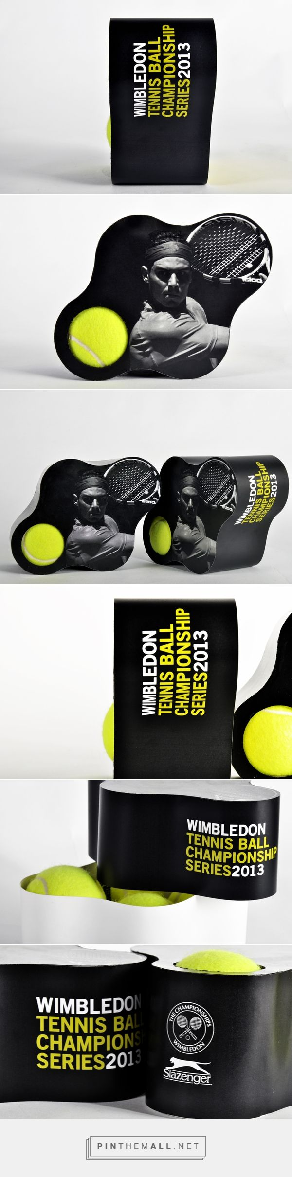 Tennis Ball for Wimbledon curated by Packaging Diva PD. Great tennis ball packaging for World Tennis Day.