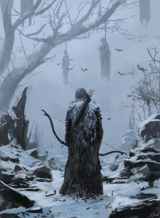 As ilustrações de fantasia e terror de Stefan Koidl