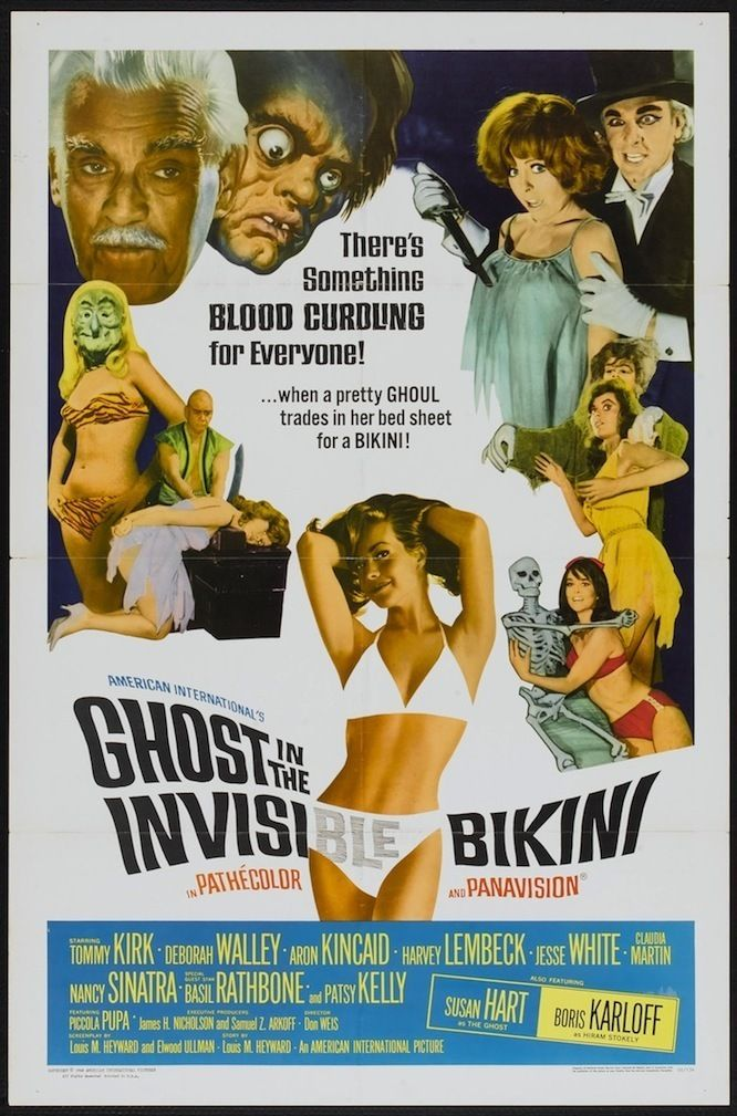 The Ghost in the Invisible Bikini (1966)