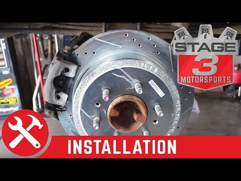 How to Replace Rotors and Pads and do a Brake Job on a 2009-2014 F-150 - YouTube