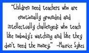 Quotes - teaching