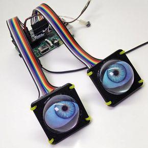 Animated Eyes Bonnet for Raspberry Pi Mini Kit