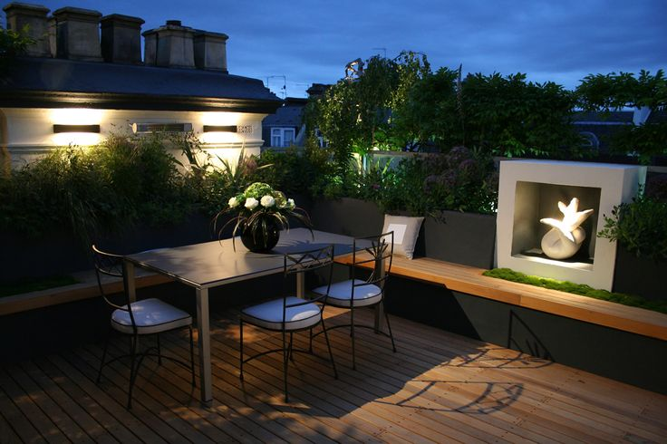 House design roof garden