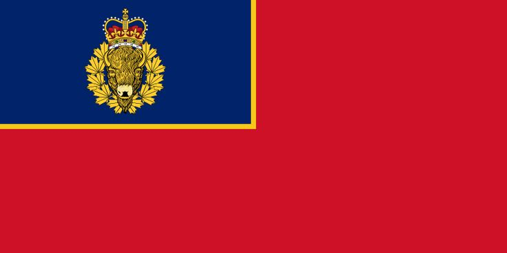 Royal Canadian Mounted Police flag