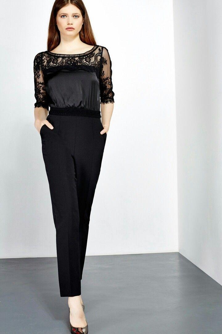 Liu Jo Elegant black jumpsuit 2016