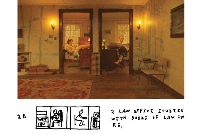 Moonrise Kingdom storyboard