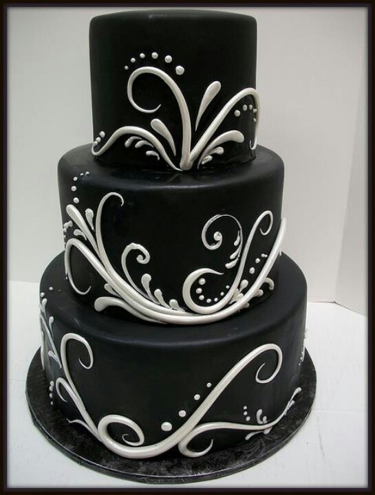 Design Amazing Cakes Cake Ideas Wedding Black And White