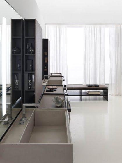 *bathroom design, vanity, sink, modern interior design* - vincent van duysen