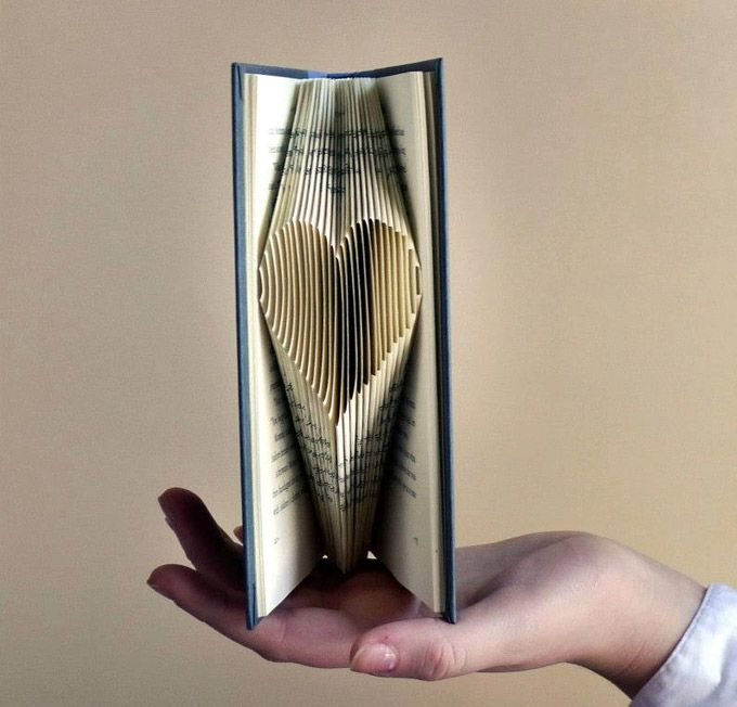 23 Best Images About Folded Book Art On Pinterest Words