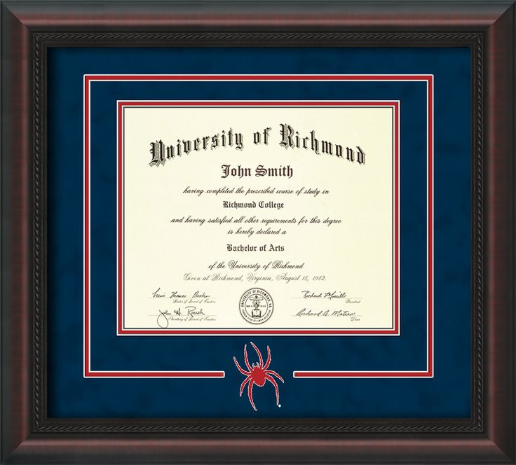 66 best UR - University of Richmond Diploma Frames & Graduation ...