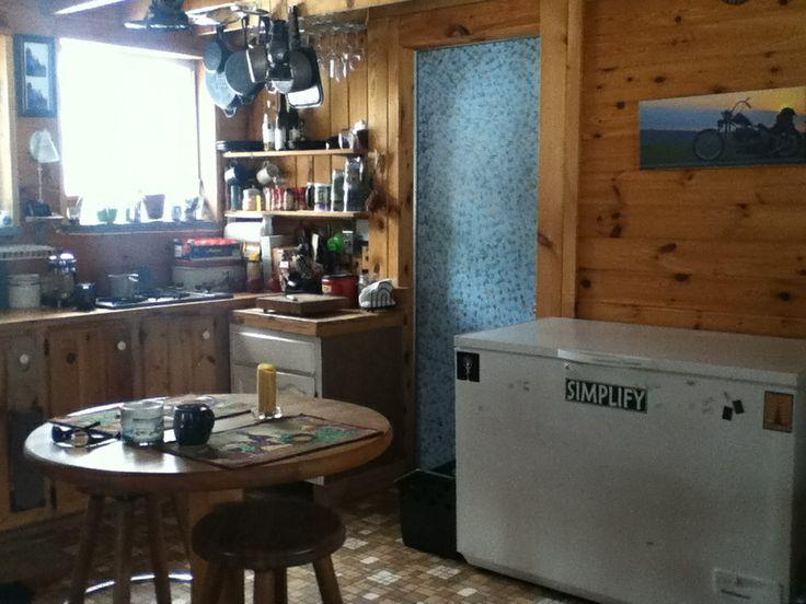 Off Grid Cabin Interior