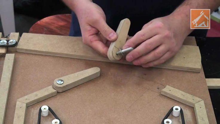 Pinball de madeira - Como fazer - Episódio 2                                                                                                                                                                                 Mais