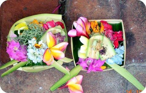 Hindu offering, Bali