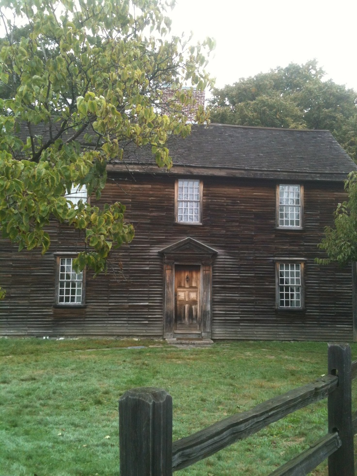 Birthplace of John Adams in Quincy, MA, 2nd President of the United States.