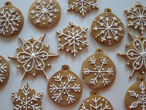 Christmas cookies - for Bella's Food Tech assessment?