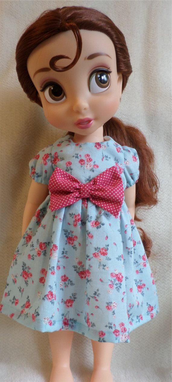 """Disney Animator Doll Clothes - Pretty vintage style dress  for 16"""" doll"""