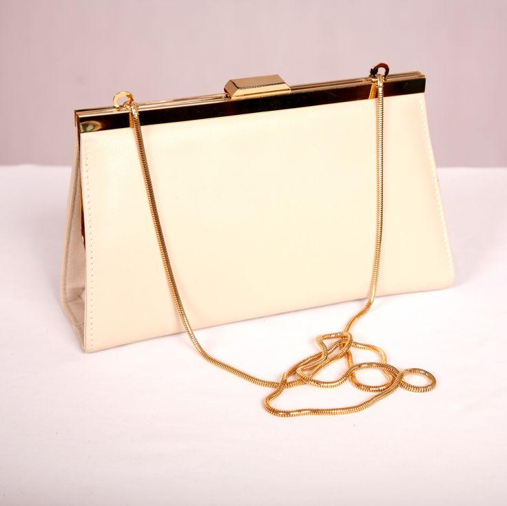 Cream #leatherhandbag #bridalaccessory #aussiemade