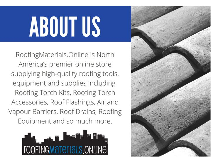 A little bit about us!  RoofingMaterials.Online is North America's premier online store supplying high-quality roofing tools, equipment, and supplies including Roofing Torch Kits, Roofing Torch Accessories, Roof Flashings, Air & Vapour Barriers, Roof Drains, Roofing Equipment and so much more!  . . . . . #roofing #roofer #construction #roof #reno #renovation #remodel #remodelling  #building #architect #tools #ecobuild #aec #home #house #constructioncompany #property #toronto