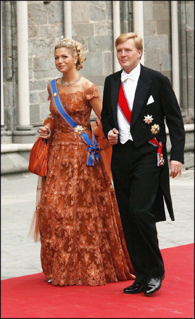Princess Maxima and Prince Willem-Alexander of the Netherlands