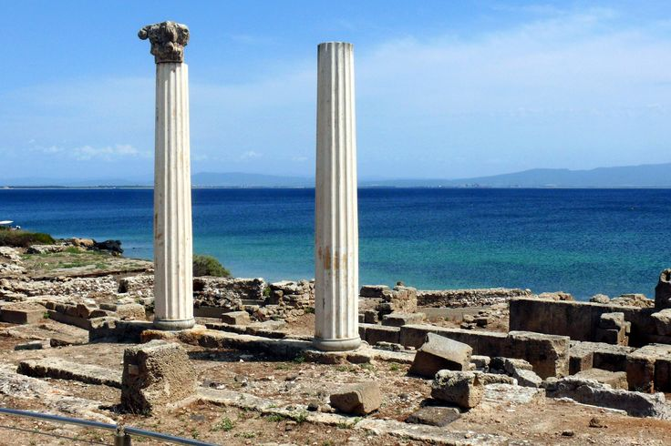 The Phoenician and Roman town of Tharros - Oristano, Sardegna, Italy.