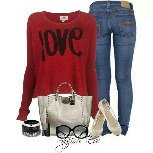 1000+ ideas about Valentineu0026#39;s Day Outfit on Pinterest | Day Outfits Outfits and Polyvore