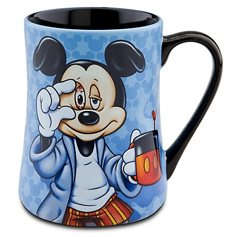 mornings mickey mouse mug:  looks like me every morning....