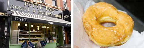 Peter Pan Doughnuts in Brooklyn.. Some claim it is better than Doughnut Plant.  I must see for myself.
