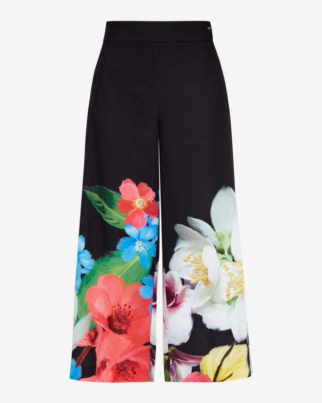 Forget Me Not culottes - Black | Pants | Ted Baker ...