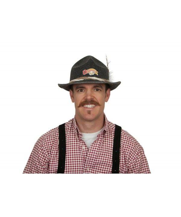 Essence Of Europe Gifts Men's German Hat W/ Rope & Oktoberfest Logo Gray C911LND255D – Hat & Caps Collection