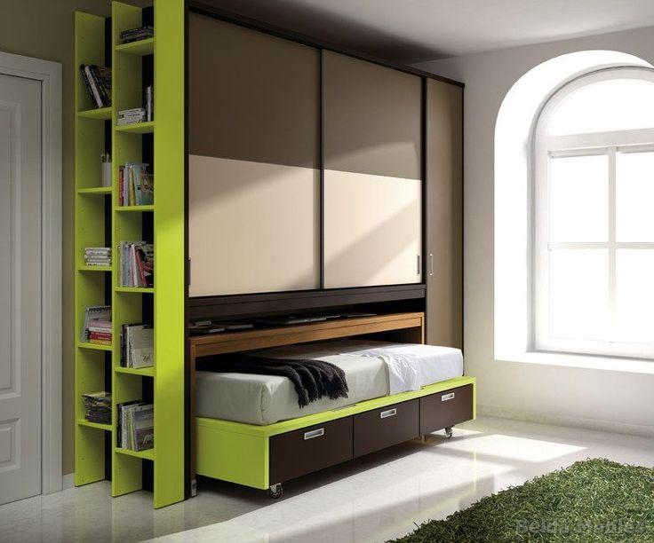 Dormitorios juveniles para espacios reducidos trendy fabulous lnea de camas abatibles de ros - Alfombras baratas malaga ...