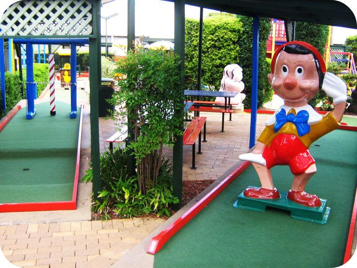 Putt Putt Golf Course, Mini Golf Course, Games - NSW - Sydney - Parramatta