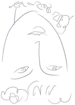 "Matisse's ""La Pompadour""   ""Learn to Draw"" Lesson - http://makingartfun.com/htm/f-maf-art-library/la-pompadour-drawing-lesson.htm"