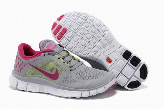 the best attitude 7e478 70cb6 sale nike free run 3 running shoe grey volt fireberry women be45f 85c49