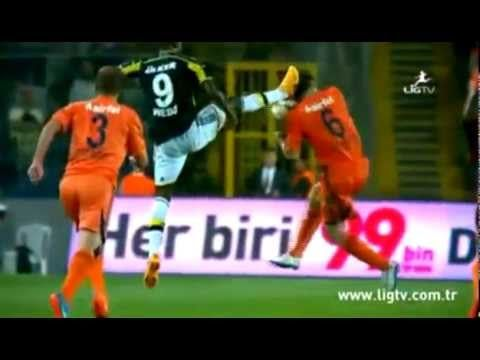 W T F !!! :-O Pierre Webo Horror Foul (Red Card) ~ Basaksehir vs Fenerbahce 2-2 [25.05...