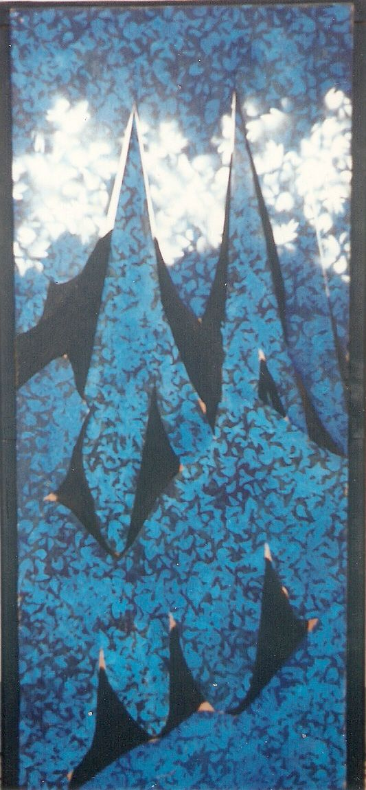 """l'orizzonte degli eventi"", arilyc painting"