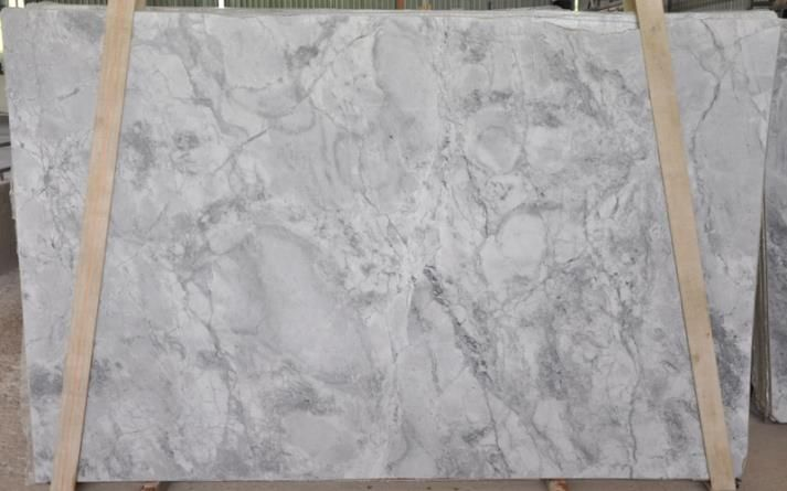 The Amazing Colors Of Wicked White Quartzite Seen In Slab Form Here At Boston Granite Exchange