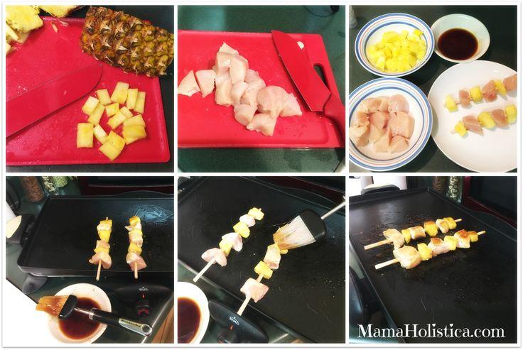 Pollo con Teriyaki a la Parrilla #SteadyIsExciting #ad #receta #mamaholistica