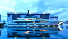 HEENSEN YACHTS The sporty, speedy yacht can reach a top speed of nearly 30 knots…