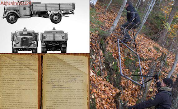 """Szczelina jeleniogórska, a w niej ukryte ciężarówki ze skarbami. """"Mamy pewne tropy"""""""