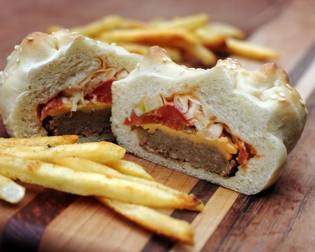 Vegan Big Macs only better! | Yum! | Pinterest