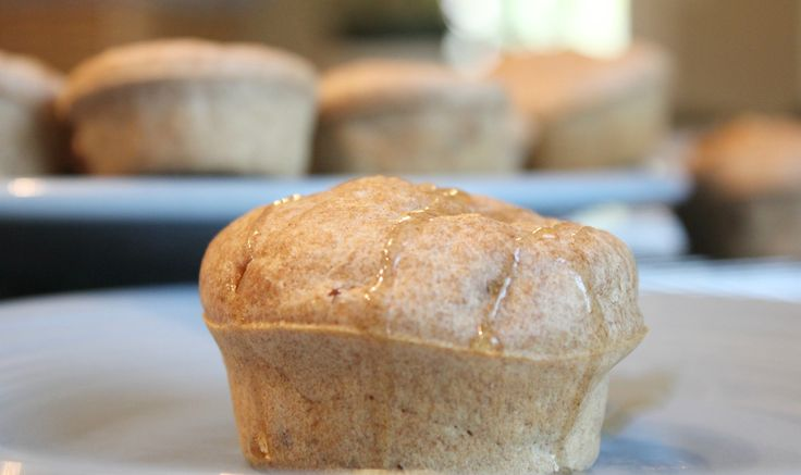 whole wheat pancake sausage muffins... try with homemade turkey sausage