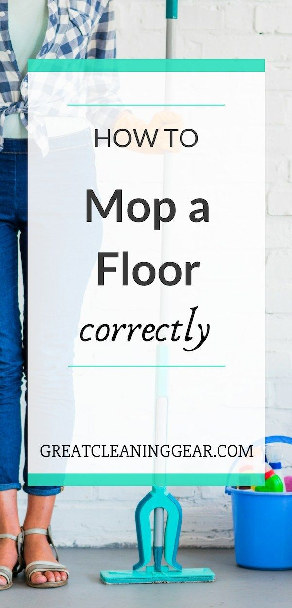How To Mop A Floor Correctly Clean Laminate Flooring