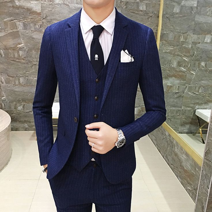 Boutique High-end Brand Of The Bridegroom's Best Man Formal Wedding Gown Striped Suit Blazer Slim Male Business Suit Jacket Coat -  Buy online Boutique High-end Brand of The Bridegroom's Best Man Formal Wedding Gown Striped Suit Blazer Slim Male Business Suit Jacket Coat only US $69.96 US $41.98. This Online shop give you the discount of finest and low cost which integrated super save shipping for Boutique High-end Brand of The Bridegroom's Best Man Formal Wedding Gown Striped Suit Blazer…
