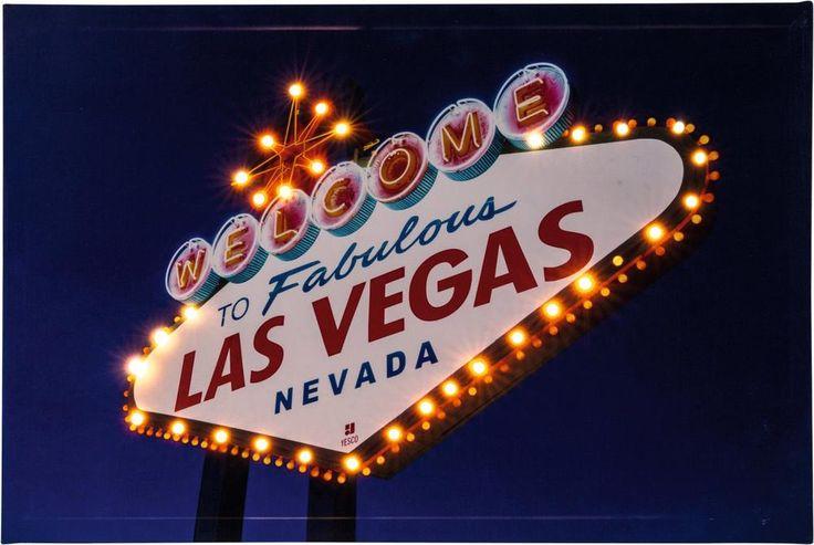 Heitronic Las Vegas 34083 LED-schilderij Las Vegas LED Bont in de Conrad online shop